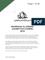 Complete Teaching Plan 2015