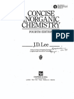 Concise Inorganic Chemistry (4th Edition) by J.D.lee