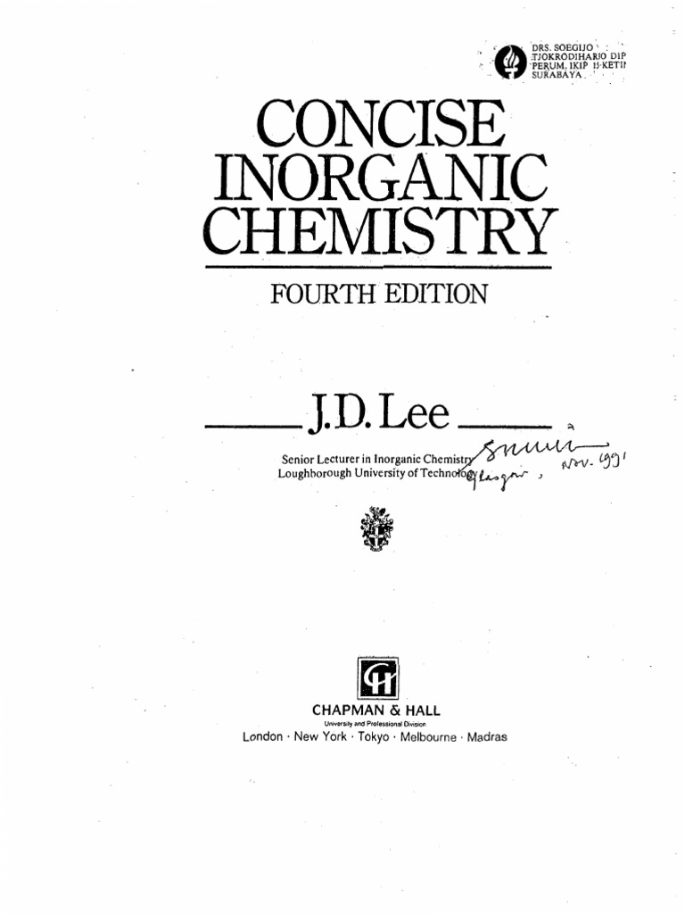 Concise inorganic chemistry 4th edition by jdlee electron atoms fandeluxe Images