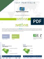 Product Portfolio NATIVIA_2013