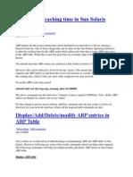 Reduce ARP caching time in Sun Solaris using ndd.pdf