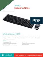 Wireless Combo MK270