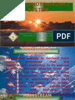 Solar (Photovoltaic) System Presentation
