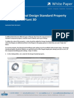 Add an Optional Design Standard Property to Flanges in Plant 3D