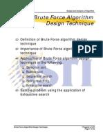 MELJUN CORTES ALGORITHM Brute Force Algorithm Design Technique_II