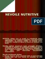 C5 Nevoile nutritive