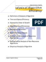 MELJUN CORTES ALGORITHM Analysis of Algorithm Efficiency