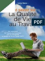Livre Blanc Tout Savoir Sur La Qualite de Vie Au Travail