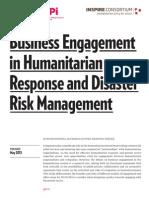Hoxtell Et Al 2015 Biz Engagement Humanitarian Response