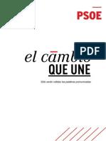 Discurso de Pedro Sánchez en su proclamación como candidato socialista a la Moncloa (PDF)
