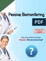 Passive Biomonitoring