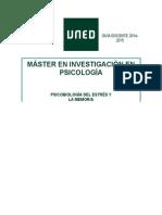 Didáctica de Psicobiología Del Estrés
