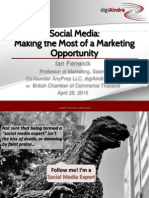 Social Media Making the Most of Marketing Opportunity