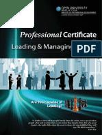 Leading Managing