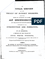 Denmark Vesey – 1822 slave uprising and trial