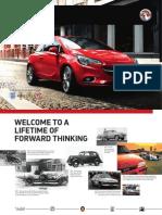 New Corsa Brochure