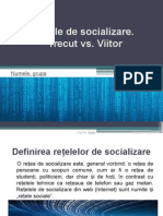 Rețele de Socializare