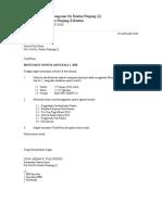 Surat Panggilan Mesyuarat Guru Kali 1 2010