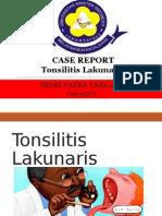 Tonsilitis Lakunaris