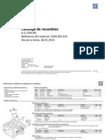 Piezas 6S 1350 BO (1349052015_es)