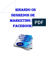 Dominando Dominando os segredosOs Segredos de Marketing No Facebook