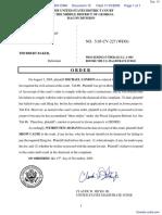 London v. Baker - Document No. 15