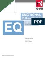 Hogan Report - Emotional Intelligence