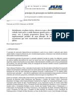 A Implementação Do Princípio Da Precaução No Âmbito Internacional - Jus Navigandi