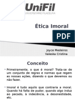 Ética Imoral
