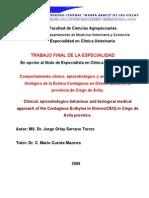 Comportamiento Epizootiologico Biologico Ectima Ovinos