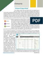 Primero Project Brief June 2015_v2