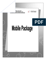 Mobile Package-Telecom Egypt