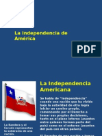 Causas de La Independencia Americana