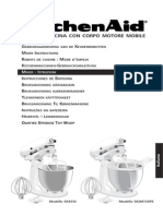 Kitchen Aid Mixer Manual