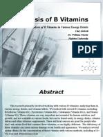 Vitamins 3