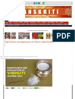 Significance and application of Vibhuti (Sacred Ash) - Sanskriti - Indian Cultur.pdf
