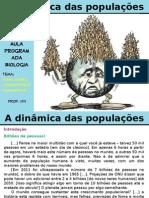 A Dinâmica Das Populações Cap. 3