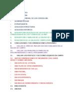 Division Del Informe