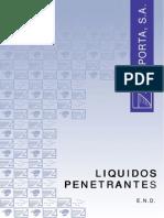Inspección de Grietas Mediante El Uso de Líquidos Penetrantes