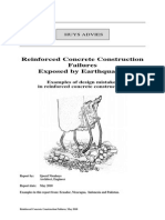 Earthquake and Concrete Construction Failures