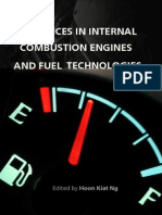 Advances in Internal Combustion Engines and Fuel Technologies