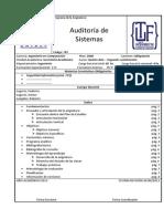 Auditoría de Sistemas Plan 2008