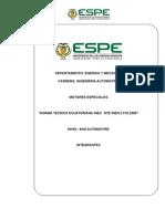 Norma Técnica Ecuatoriana Inec Nte Inen 2 310 (1)