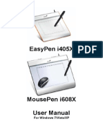 EasyPen i450X,MousePen i608X PC English