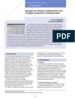 The Influence of Hydrogen on Tension-Compression and Rolling Contact Fatigue Properties of Bearing Steel