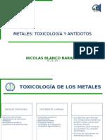 13. Toxicología y Antídotos
