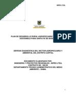 Plan Desarrollo Rural Agro Ambiental Bogota