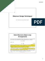 Lesson 3 (Observer Design)