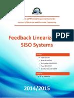 SISO Feedback Linearization