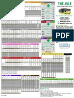 1 Bus Schedule for Dubuque Iowa